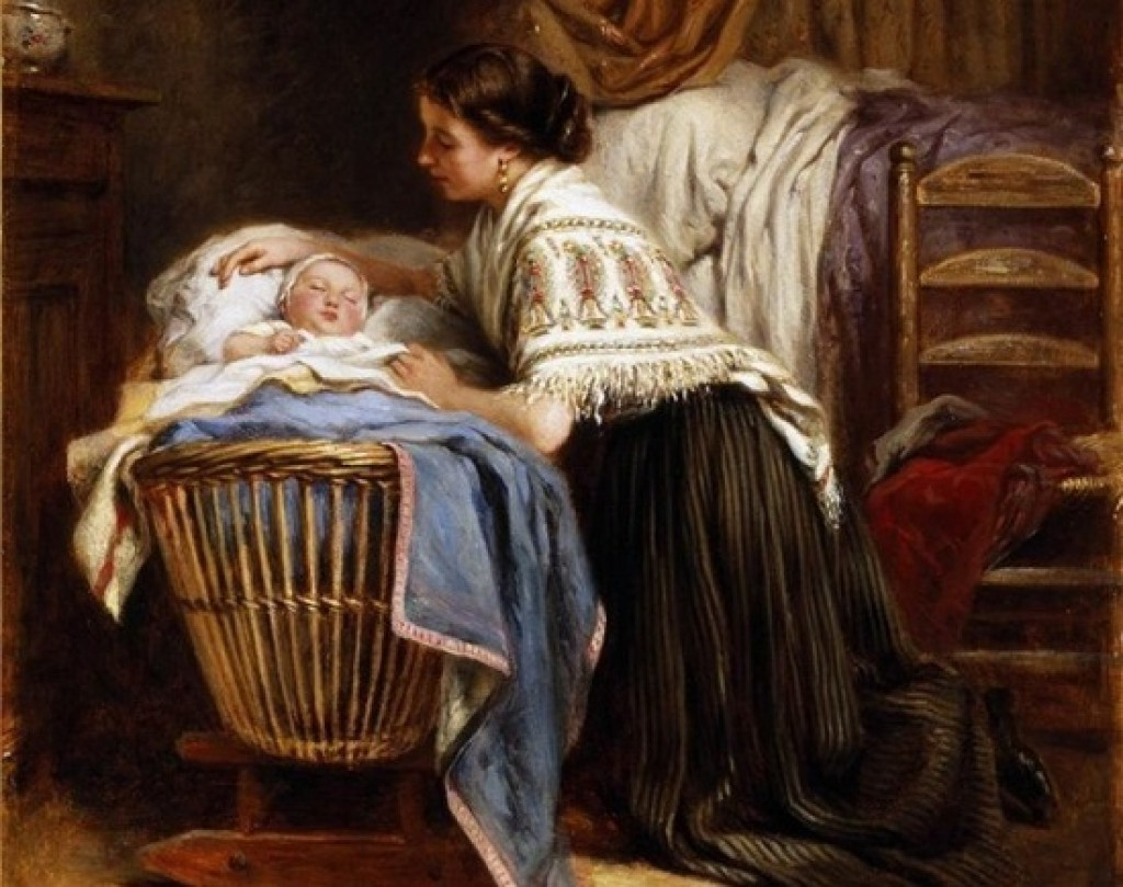 Leon Emile Caille: Her Pride and Joy (1866)
