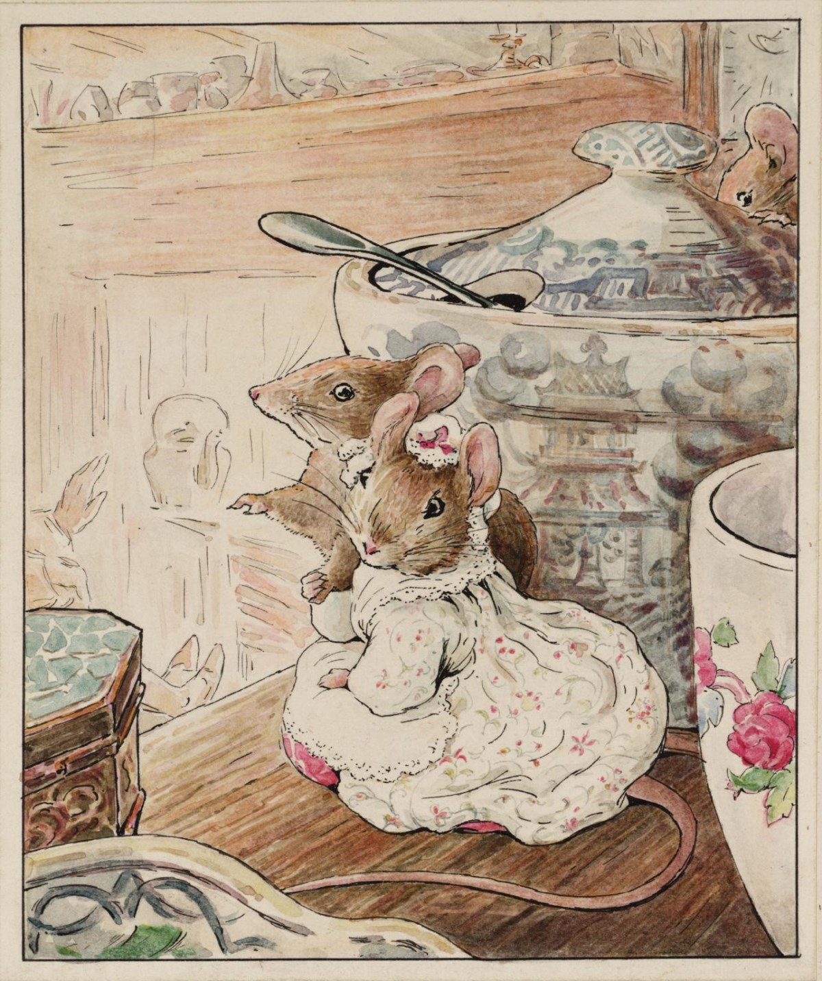 The Mice Listen to the Tailor